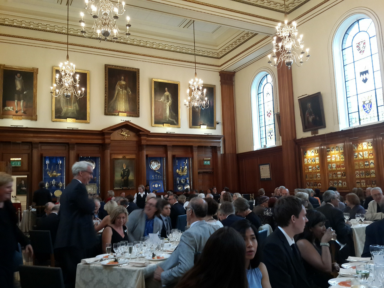 The conference dinner was held in the inner temple.