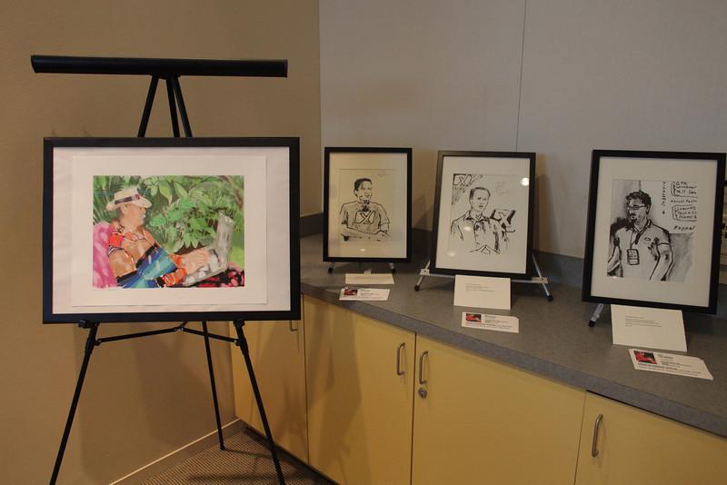 David's artwork.