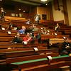 Audience in the break after Heikkis talk