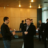 Crowd during lunchtime - starting to thin out for the next talks