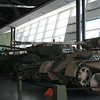 War museum - gallery with lots of tanks and guns
