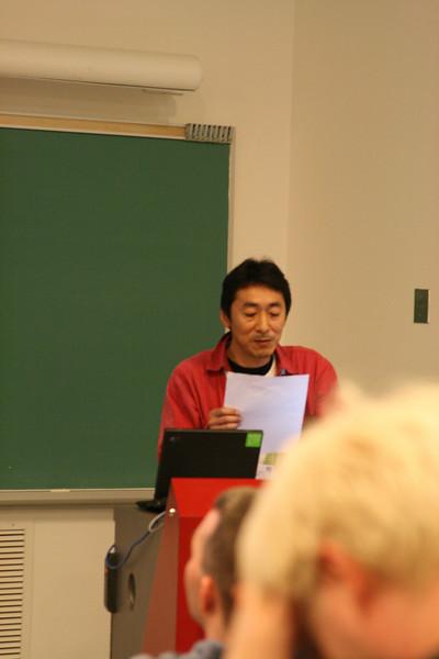 Lightning talks - Hiroshi Saito