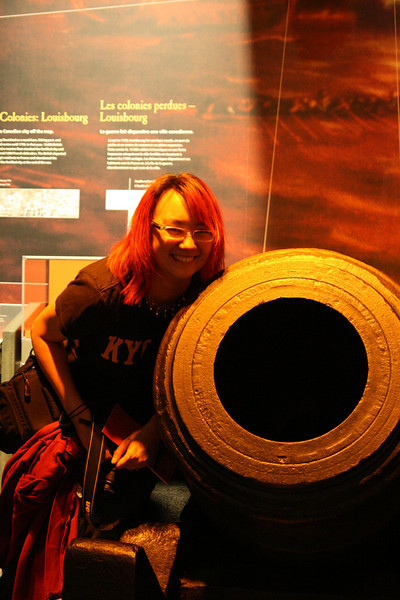 War museum - thats' one big cannon!