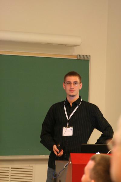 "Lightning talks - Jan Urbanski - ""tsearch gsoc"""