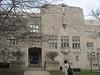 Art deco Gothic. Originally the Indiana University medical school building