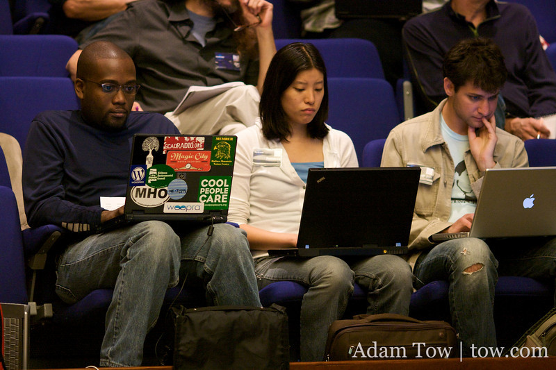 WordPress bloggers and developers at third annual WordCamp in San Francisco.