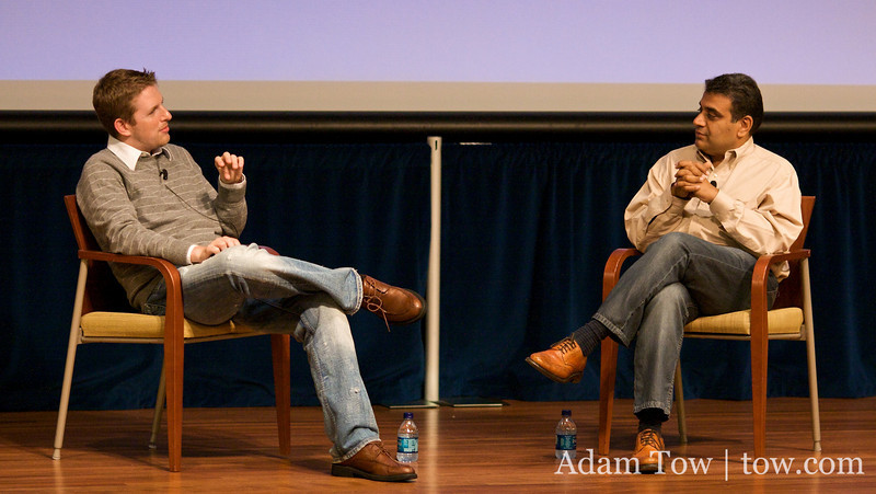 Matt interviews GigaOm founder, Om Malik on the future of blogging at WordCamp 2008 in San Francisco.
