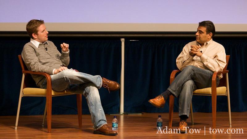 Matt interviews GigaOm founder, Om Malik on the future of blogging at WordCamp 2008 in San Francisco.