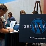 The Genius Bar at WordCamp 2008.