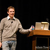Matt gives the State of the Word address at WordCamp 2008 in San Francisco.