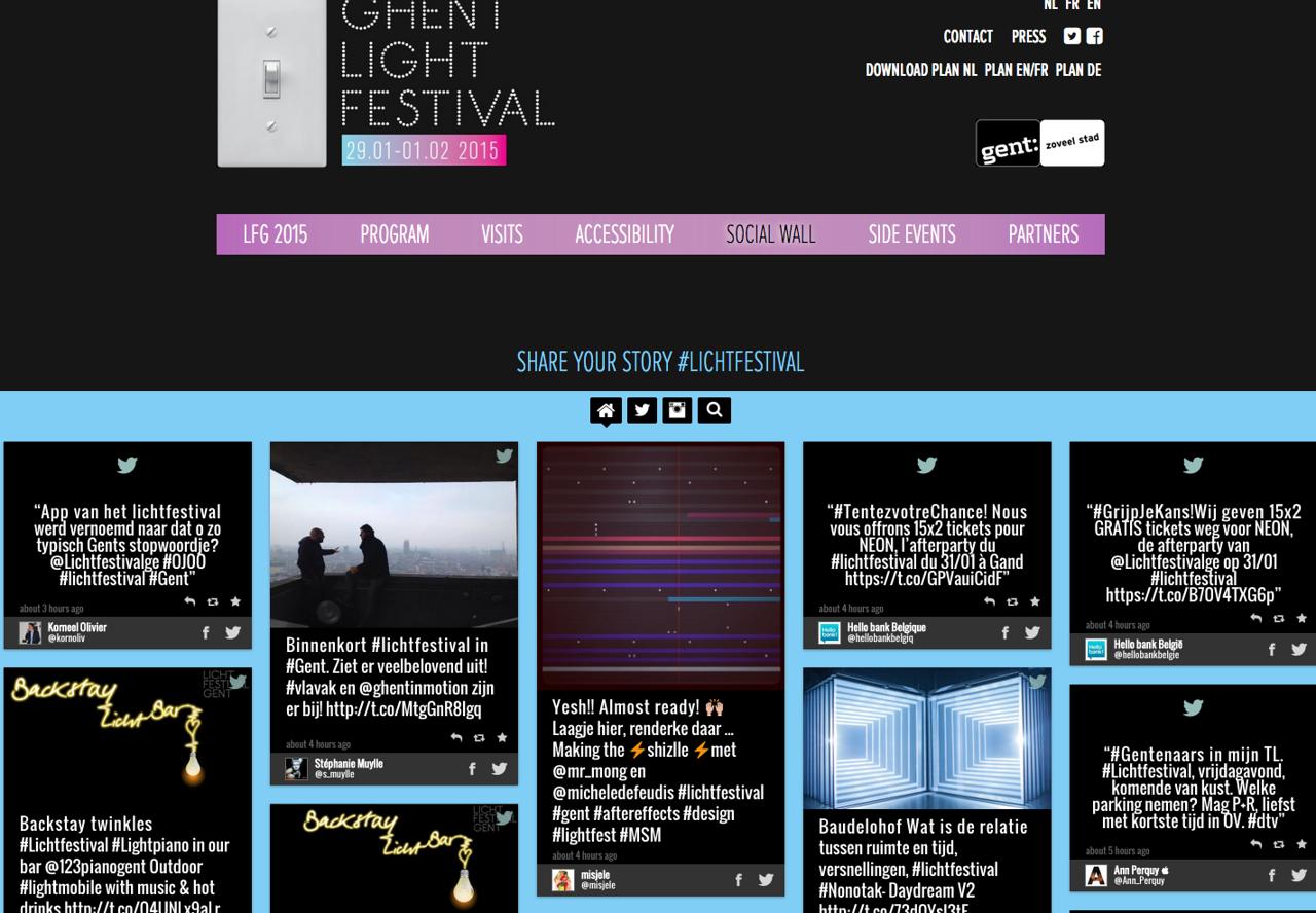 Ghent Light Festival #lichtfestival