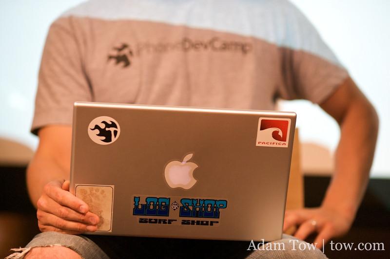 iPhone + MacBook Pro = iPhoneDevCamp2