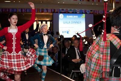 EUNIS 21st Congress Dundee 2015, Scottish Highland Dancers