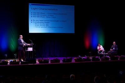 ICPA 2014, Speaker Presentation, Caird Hall, Dundee
