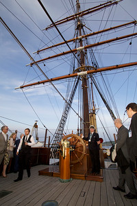 ICPA 2014, Delegates on guided tour of RRS Discovery