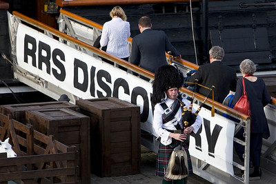 ICPA 2014, Delegates at Civic Reception, RRS Discovery, Dundee
