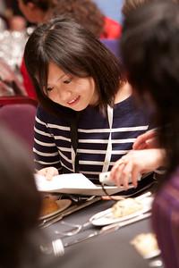 ISRR 2012, Delegates at Conference Dinner, Fairmont St Andrews
