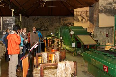 ISRR 2012, Delegates at Scotland's Jute Museum @ Verdant Works