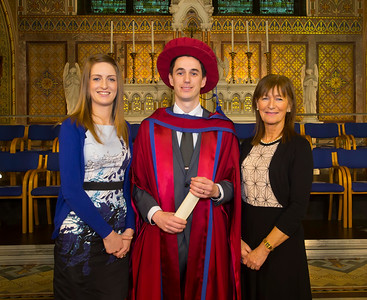 "07/01/2015. FREE TO USE IMAGE. WIT (Waterford Institute of Technology) Conferring, Pictured Brian Meskill from Waterford City, also pictured are Una O""Halloran and Jo Meskill. Picture: Patrick Browne"