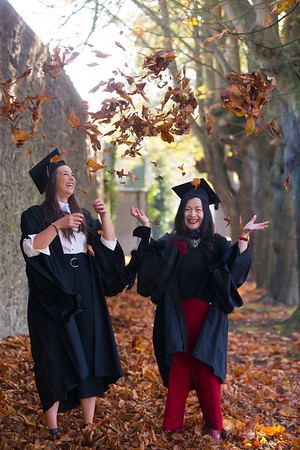 02/11/2018. Waterford Institute of Technology (WIT) Conferring Ceremonies 2018. Pictured are Lauren Douglas Dublin and Hui Xing Westmeath. Picture: Patrick Browne
