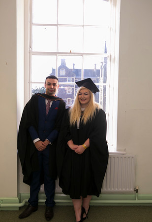 02/11/2018. Waterford Institute of Technology (WIT) Conferring Ceremonies 2018. Pictured are Lewis Crane Goresbrige and Sinead O'Condon Woodstown. Picture: Patrick Browne