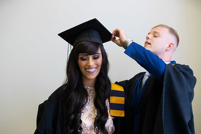 31/10/2019. Waterford Institute of Technology (WIT) Conferring Ceremonies are Kalvin Curley Mayo and Chloe Walsh Waterford. Picture: Patrick Browne