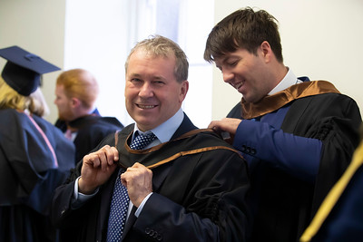 31/10/2019. Waterford Institute of Technology (WIT) Conferring Ceremonies are John Foley and Kevin Daly from Dungarvan. Picture: Patrick Browne