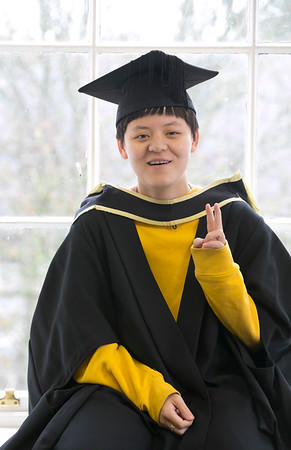 "31/10/2018. Waterford Institute of Technology (WIT) Conferring Ceremonies 2018. Pictured is ""Ivy"" Zixuan Chen. Picture: Patrick Browne"