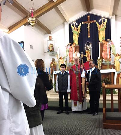 Confirmation at St. William Catholic Church