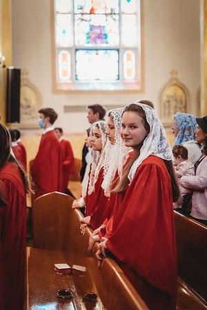 _NIK0516 St  Mary Confirmations FSSP 2021 Bishop Coffey