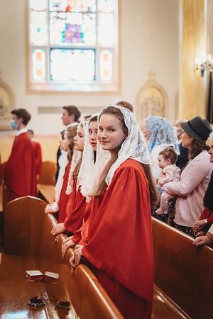 _NIK0514 St  Mary Confirmations FSSP 2021 Bishop Coffey