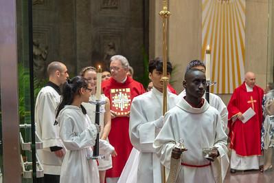 Confirmation Mass 5-20-18-5