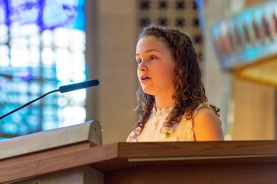 Confirmation Mass 5-20-18-19