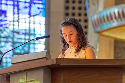 Confirmation Mass 5-20-18-18