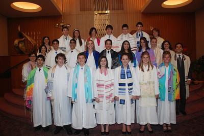 Mount Zion Temple Confirmation 2007