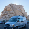 Sprinter Van at Joshua Tree National Park