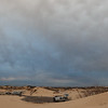 Windy Storm Clouds Above Sandhills Campground