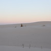Horizon Line Along the Sand Dunes
