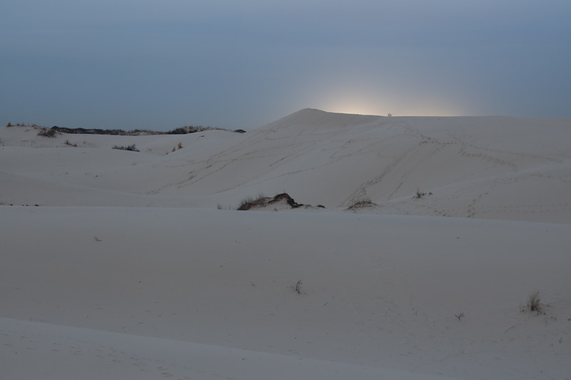 Light Emanating from the Sand Dunes