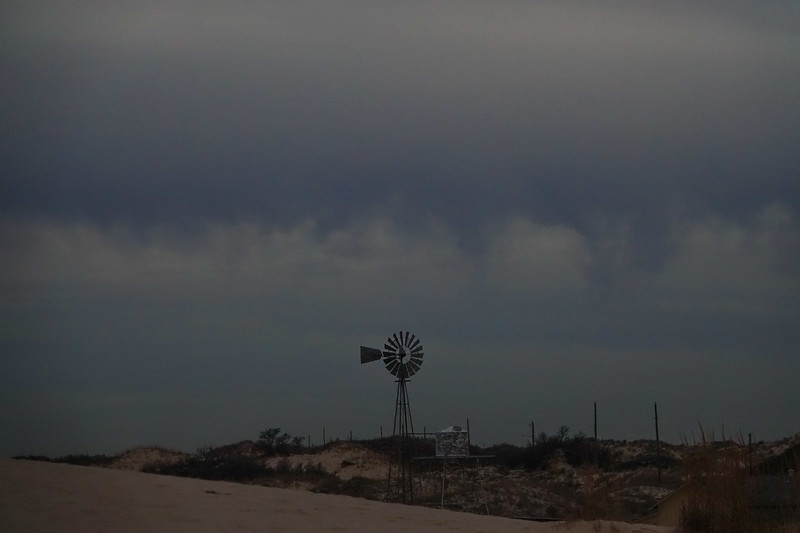 Storm Clouds Over the Windmill