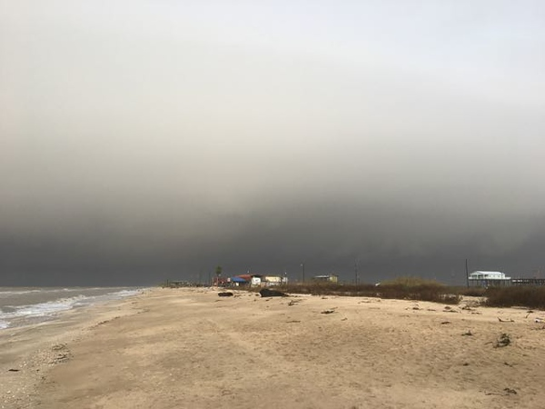 Approaching Storm at Rutherford Beach