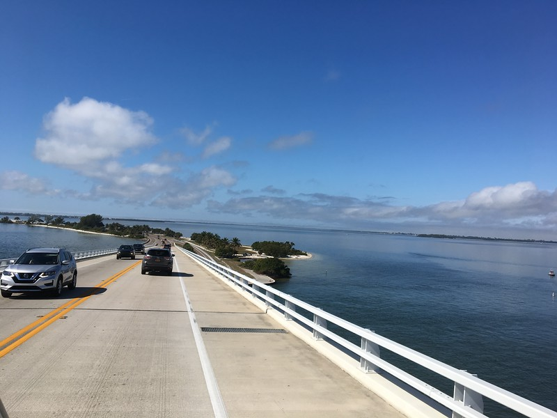 Highway to Sanibel Island
