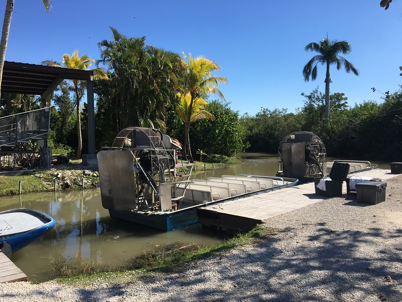 Airboat at the Alligator Farm
