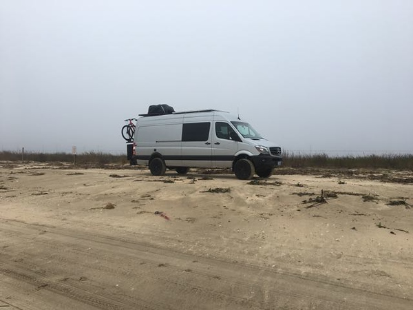 Rutherford Beach Wild Camp