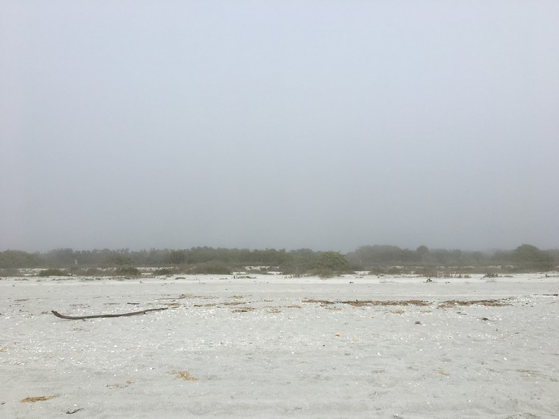 Mist on the Gulf of Mexico