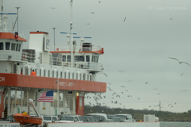 Galveston - Bolivar Ferry