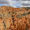 Panorama of Valley of Hoodoo Cliffs Along Thunder Mountain Trail in Utah