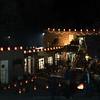 Night Photos of Farolitos Canyon Road Walk