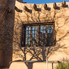 Adobe Window and Tree Branch Shadows