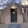 Adobe Doorway to Sculpture Park